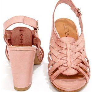💕Sixtyseven Pink Leather Sandal EU SZ40(US 10)💕